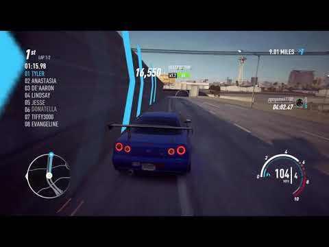 NEED FOR SPEED PAYBACK: CIRCUIT RACE ~ SKIRT THE CITY