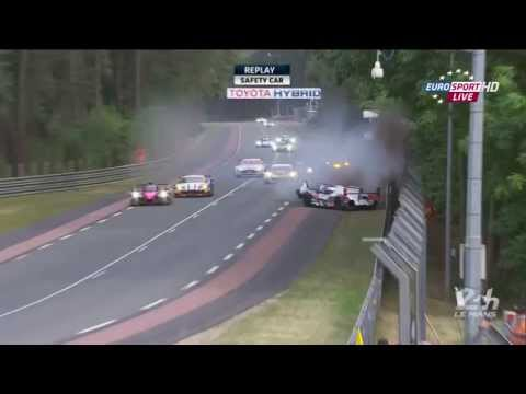 24h le mans 2015 audi 8 loic duval crash youtube. Black Bedroom Furniture Sets. Home Design Ideas