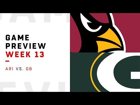 Arizona Cardinals vs. Green Bay Packers | Week 13 Game Preview | NFL Playbook