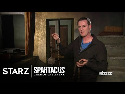 Spartacus | Gods of the Arena - The Weapons | STARZ