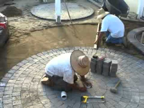 Pavers   Circle Kits Add Interest To Backyard Patios