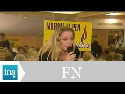Marine Le Pen et le Front National - Archive INA