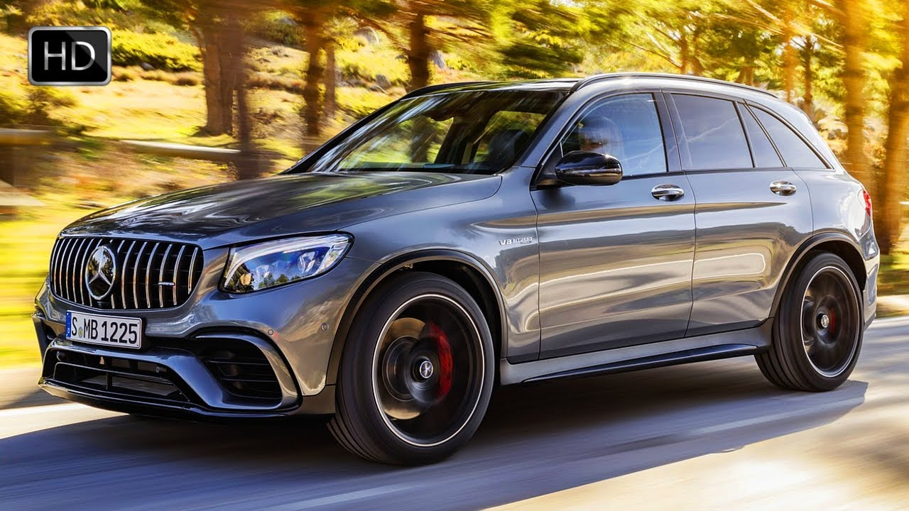 2018 Mercedes Amg Glc 63 S 4matic Suv Design Overview Driving Footage Hd Youtube