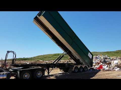 G30 Trailer Mounted Hookloader - Australia - Tipping