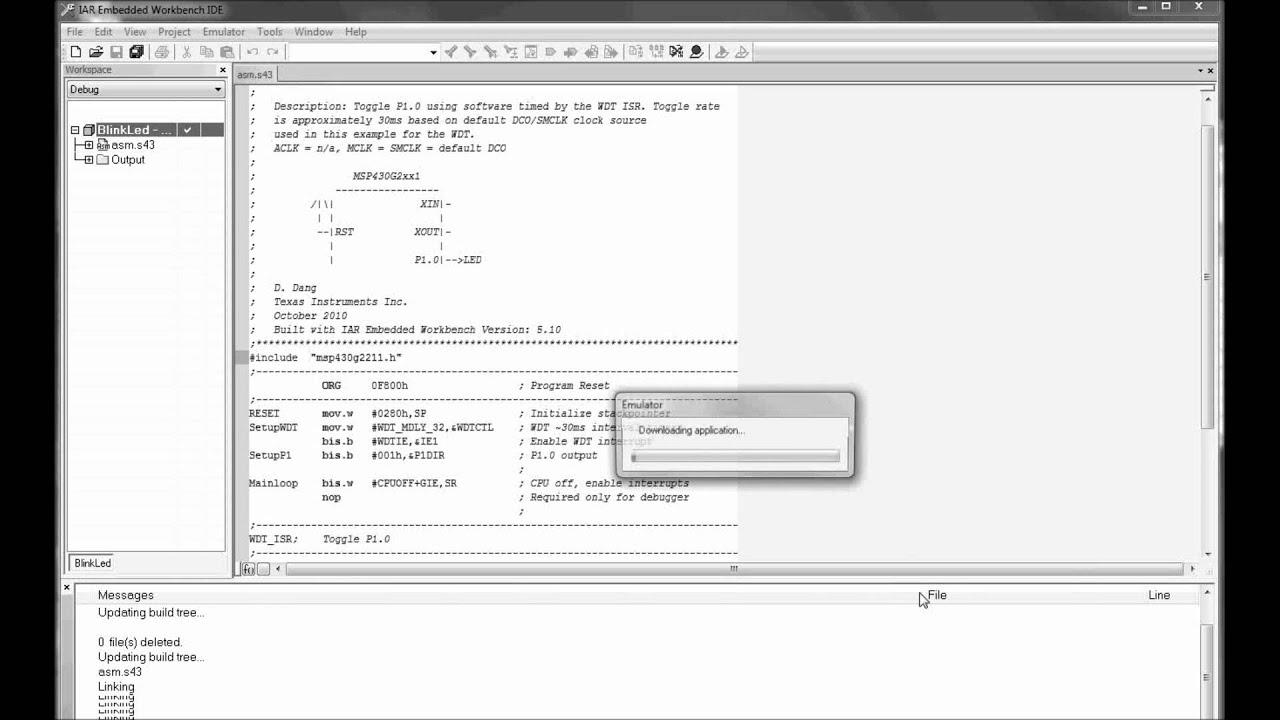 Iar 8051 interrupt example
