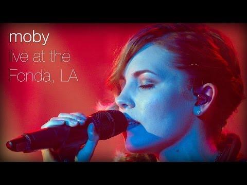 Moby - Southside feat. Skylar Grey (Live at The Fonda, L.A.)