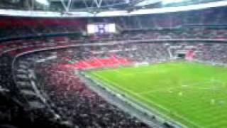 New Wembley first game .. England U21s v Italy U21s