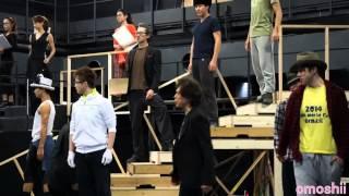 ミュージカル『CHESS』公開稽古の一部です。安蘭けいさん、石井一孝さん...