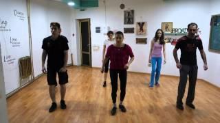 Уроки чечетки с Владимиром Данилиным в арт-студии