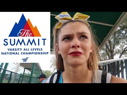TOO MUCH PRESSURE! SUMMIT CHEER COMPETITION  FLORIDA TOP DOG THUNDER! | EMMA AND ELLIE