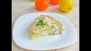 Пирог лаваш с сыром в духовке рецепт
