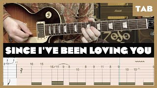 Since I've Been Loving You Led Zeppelin Cover | Guitar Tab | Lesson | Tutorial