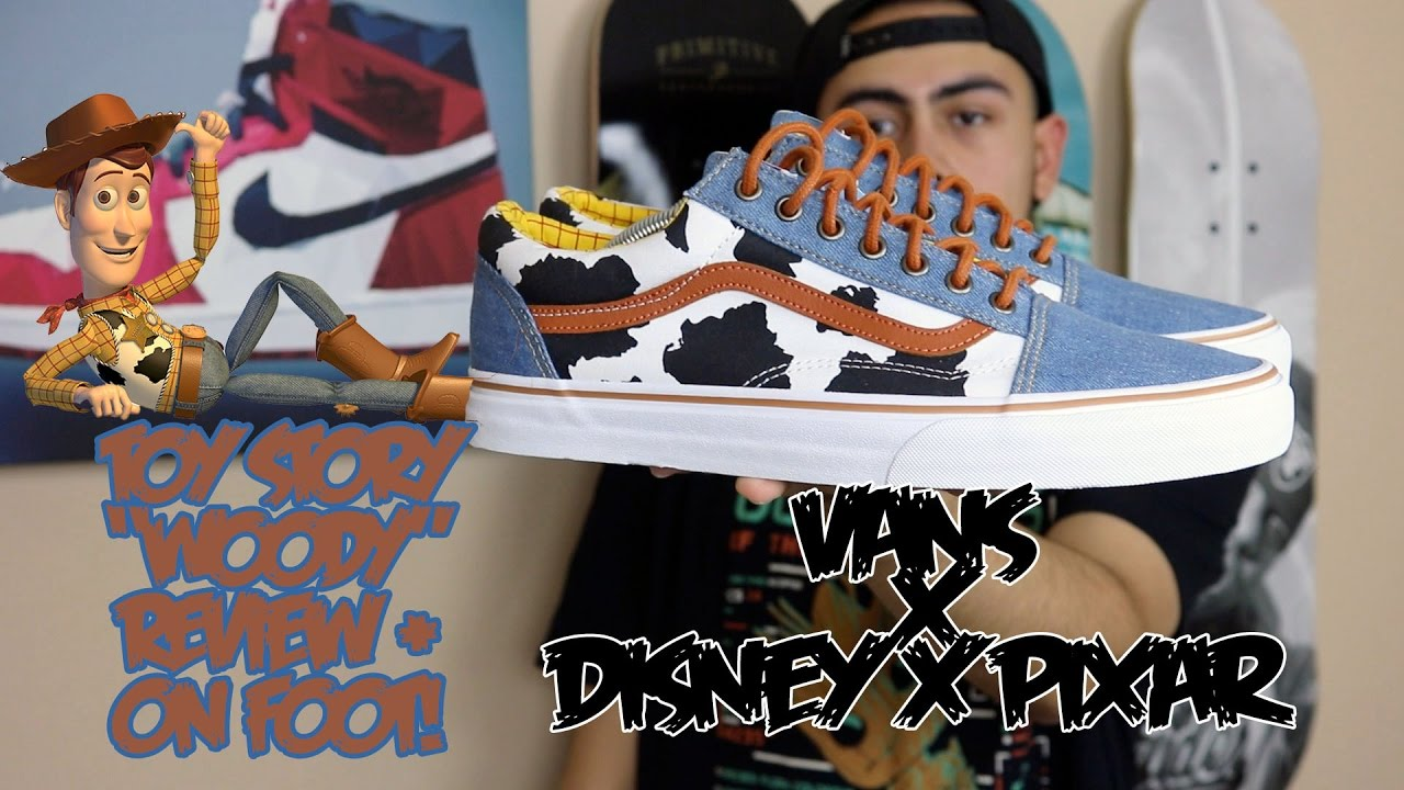 toy story vans on feet