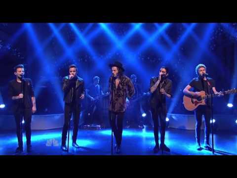 One Direction - Night Changes | SNL December 2014