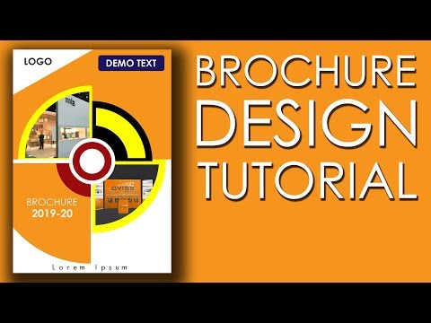 Brochure Design Tutorial | Download Free Brochure Template | Photoshop Tutorial thumbnail