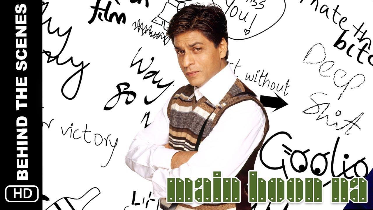 Main Hoon Na | Making | Shah Rukh Khan as Ram Sharma & Producer | A film by Farah Khan