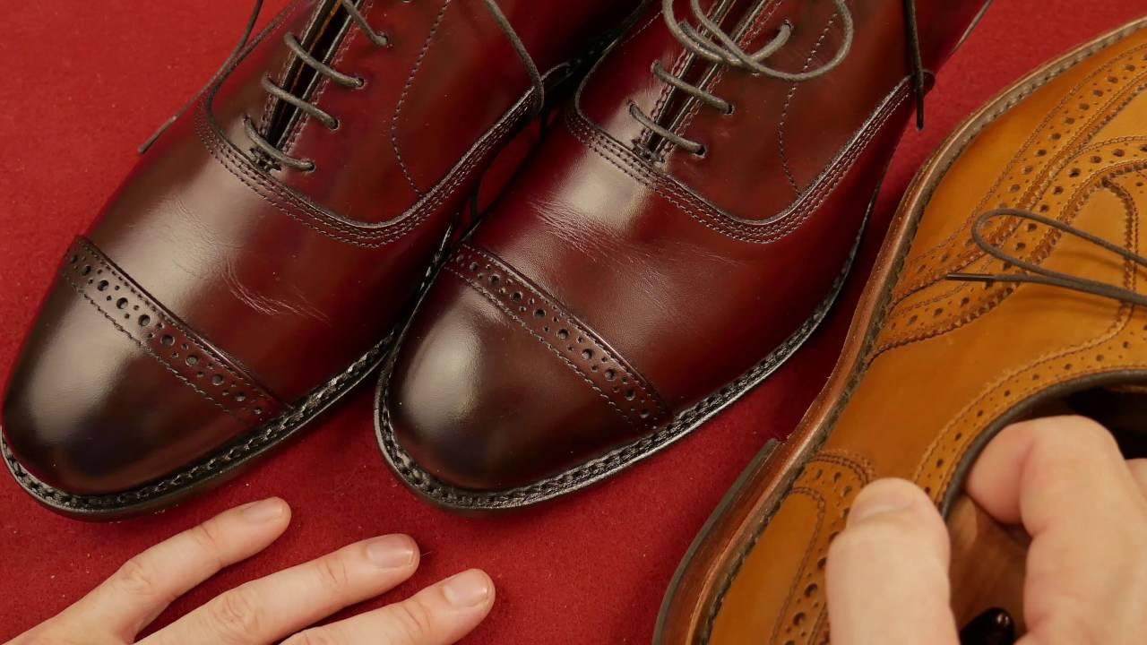 5th Avenue Cap Toe Oxford By Allen Edmonds First Impressions - Fashion For  Men Episode 12 - YouTube 77c27e94bbf