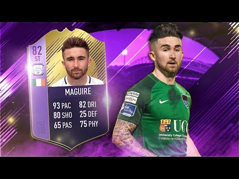 FIFA 18 POTY Maguire   Award Winner Sean Maguire Player   Fifa 18 Ultimate Team