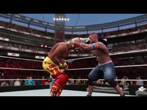 Hulk Hogan vs John Cena  (Wrestlemania Simulation)