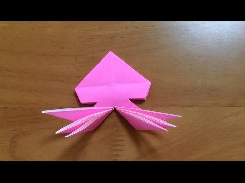 簡単 折り紙 : 折り紙ランド : youtube.com