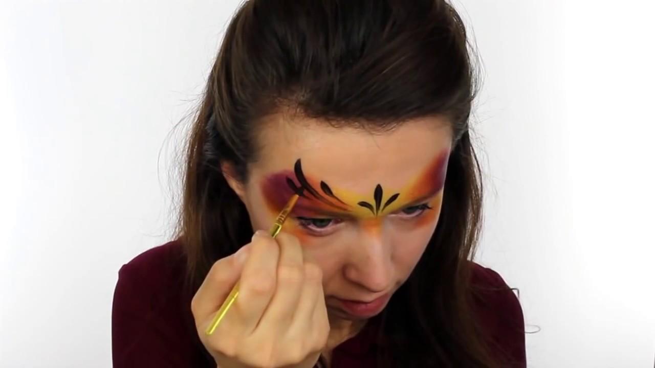tuto maquillage papillon de lumiere