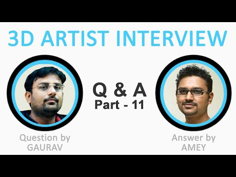 Is there any government course for animation ? I 3d artist interview part 11