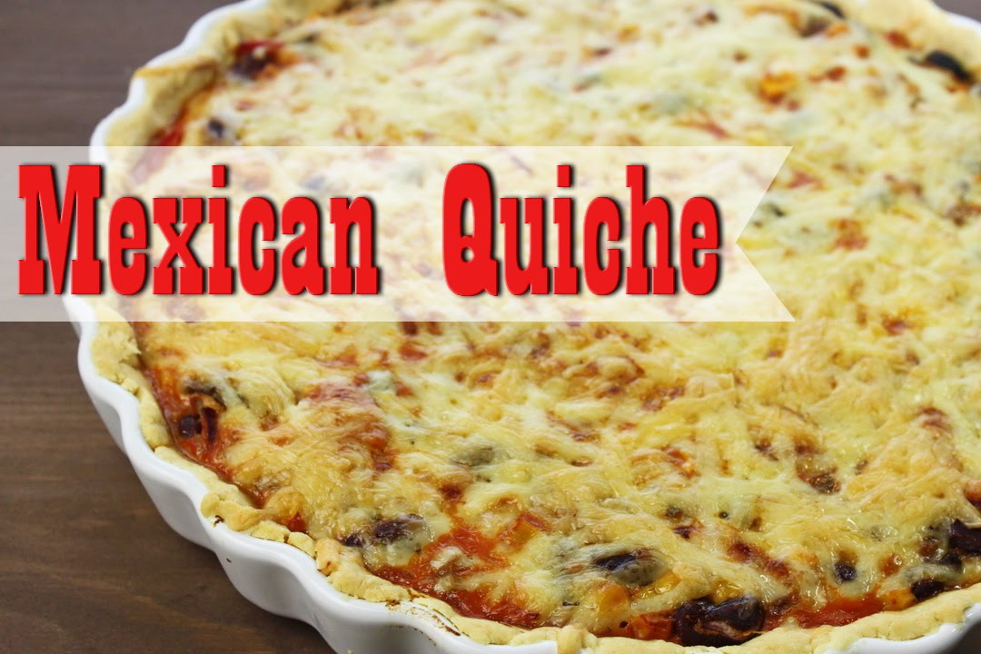 mexican quiche vegetarisch quiche selber machen quicheteig rezept vegetarische rezepte. Black Bedroom Furniture Sets. Home Design Ideas