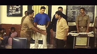 Shivrajkumar Angry and Scold Police Rangayana Raghu | Best Scenes of Kannada Movies
