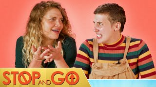 The Cast Of Stop And Go Play Would You Rather: Road Trip Edition