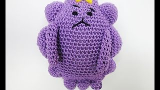 Принцеса ПУПЫРКА ГОД-1 Lumpy Space Princess Crochet Р-1