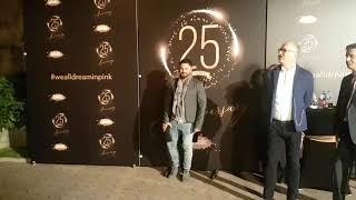 Zvanice pristižu na proslavu 25 .rođendana televizije Pink