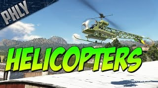 HELICOPTER IN WAR THUNDER (Actually Working)