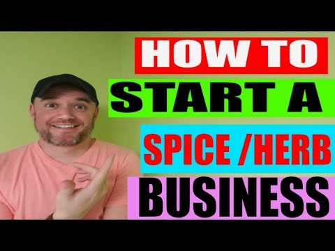 How to start a Food Business series: How to start a spice company