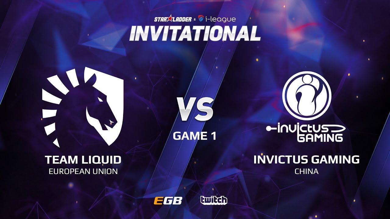 Team Liquid vs Invictus Gaming, Game 1, SL i-League Invitational S2 LAN-Final, Semi-Final