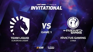 Team Liquid vs Invictus Gaming, Game 1, SL i-League Invitational S2 LAN-Final, Semi-Final