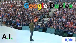 Google IO 2018 |Sundar Pichai|Google Assistant New Feature (Google Duplex)