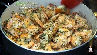 Buttery Garlic Shrimp Recipe