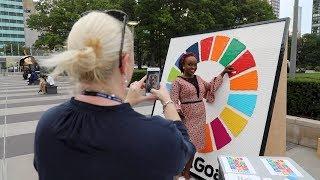 The Global Goals Lego Wheel