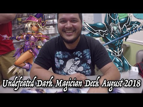 Yu-gi-oh! Undefeated Dark Magician deck August 2018