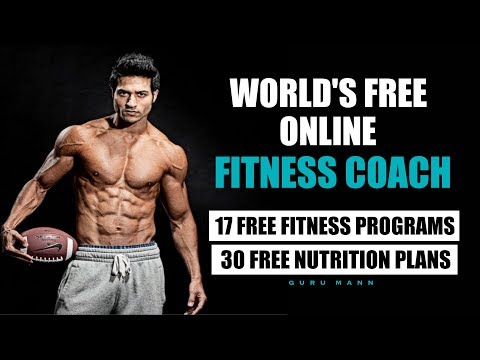 World's Free Online Fitness Trainer & Nutritionist Guru Mann Launched 17 Programs