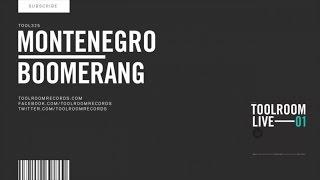Montenegro - Boomerang - Original Club Mix