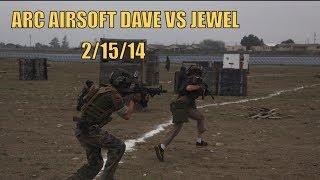 ARC AIRSOFT DAVE VS JEWEL | GORPO HERO 3