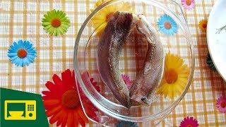 ✅ РЫБА В МИКРОВОЛНОВКЕ: готовим рыбу Хек в Samsung GE731KR