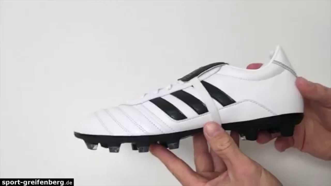 Adidas Gloro Fg Bianco / Nero Fu ß Ballschuhe K Leder Su Youtube