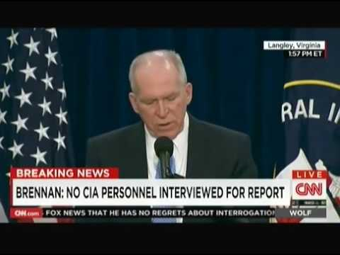Breaking News CIA Director John Brennan News Conference on Torture Report (COMPLETE)