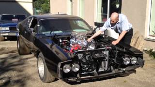 Fredy.ee Supercharged Dodge Charger R/T First Start HD