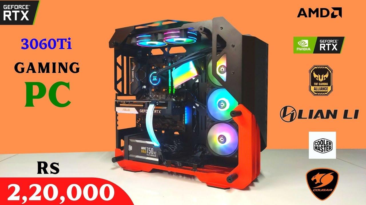 Rs 2,20,000 Gaming PC   RTX 3060Ti   Cougar   Yashank DELHI   9532777615   Mr Pc Wale