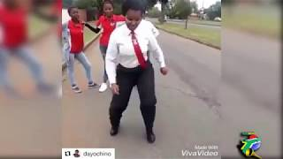 South African High School kids dancing 2017!