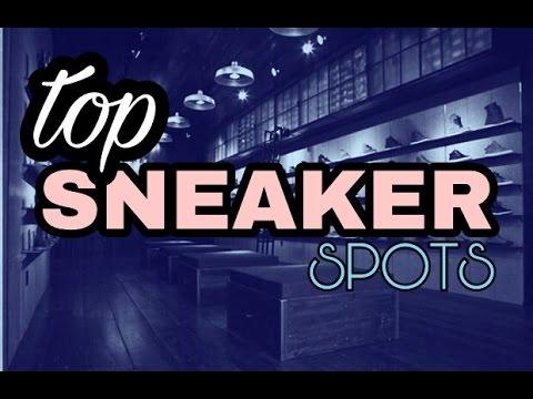 Top Sneaker Spots (in Boston)