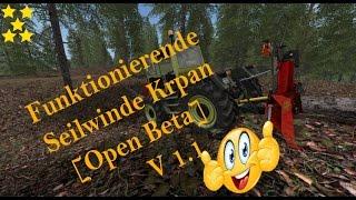"[""Funktionierende Seilwinde Krpan [Open Beta] V 1.1"", ""Mod Vorstellung Farming Simulator Ls17: Funktionierende Seilwinde Krpan [Open Beta] V 1.1""]"
